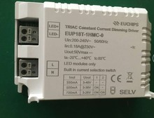 Free Shipping 18W EUP18T-MC-0 Silicon controlled multi stage constant current dimming power supply current dialing code optional(China)