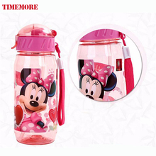 Eco-friendly children Straw Bottle Kid Bickiepegs baby kettle baby cartoon water bottle 400ml Children kettle sports bottle