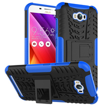 Military Armor Kickstand Phone Case Cover For ASUS Zenfone MAX Z010D ZC550KL 5.5inch Case 2 in 1 Hybrid Protective Housing Cover