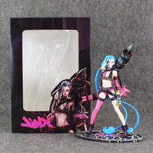 Jinx The Loose Cannon Standing Ver. Action Figure 1/6 scale painted figure Jinx Doll 008 PVC Game figure Toy Brinquedos