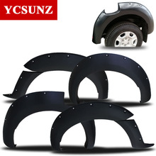 2016-2017 Fender Flare For Ford Ranger Wildtrak Accessories Black Color Mudguards For Ford Ranger Car Rangers Parts Ycsunz
