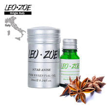 Star Anise Essential Oil Famous Brand LEOZOE Origin Italy Authentication Aromatherapy High Quality Star Anise Oil 10ml(China)