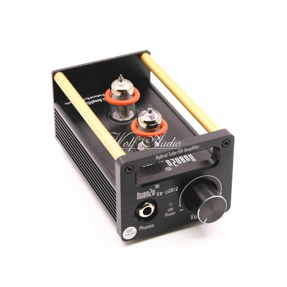 U2012 Class A 6N11 Tube Headphone Amplifier / USB DAC / HiFi Preamp Stereo Mini Audio Amplifier 2017 New