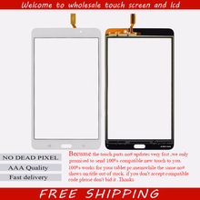 Wifi Version Touch Panel Digitizer For Samsung Galaxy Tab 4 7.0 T230 SM-T230 Touch Screen Font Glass Len 1PC/Lot