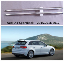 Auto Roof Racks Luggage Rack For Audi A3 Sportback  2015.2016.2017 High Quality Aluminum Paste Installation Car Accessories
