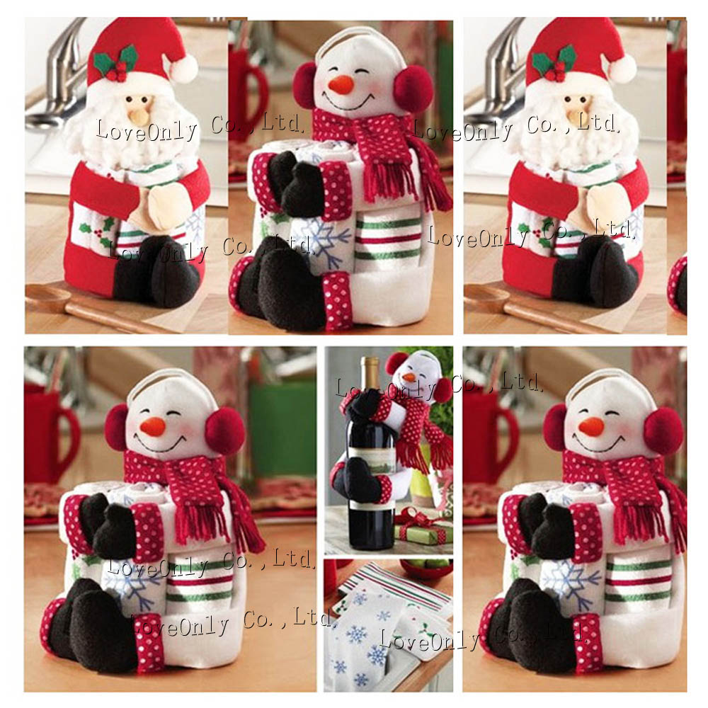 Cute santa claus towel christmas decor - Cute Santa Claus Towel Christmas Decor High Quality Awesome Gift For Christmas Cute Santa Claus