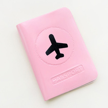 Cute Pvc Waterproof Women Passport Cover Pink Lovely Brand Designer Passport Holder Fashion Cover on The Passport