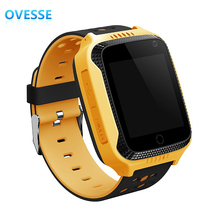 Kids GPS Tracker Watch SOS Emergency Alarm GSM SIM anti-lost remote children safe gps watch for Android & IOS Mobile Phone(China)