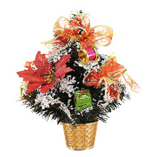HOT SALE Little Christmas tree Artificial Wedding Party Christmas Decorations For Home Ornaments Festival Supplies, 30CM(China)