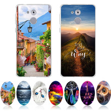 For Huawei Enjoy 6S/honor 6C Case 3D Bags Capa Fundas For honor6C Cover Cat TPU Silicone For Huawei Enjoy6S 5.0 inch Phone Cases