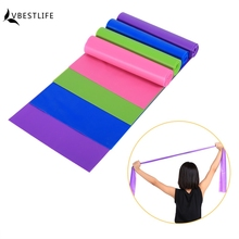 Natural Fitness Resistance Bands Rubber Stretching Belt Pull up Strap Gym Body Exercise Band Elastic Yoga Rope(China)