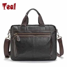 Men Bag Business Tote Briefcases Men Laptop Bags For Men Brand Handbags pu Leather Messenger Bag Multi-functional Large Capacity(China)