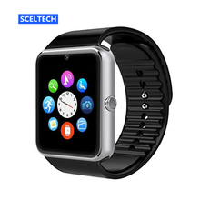 SCELTECH Sport T08 Smart Watch Clock With Facebook Whatsapp Twitter Sync Notifier support SIM TF Card For Android Phone iPhone(China)