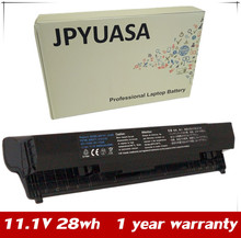 "JPYUASA 28wh 11.1V Laptop Battery For Dell Latitude 2100 Smart Rubberized 10.1"" Netbook 312-0142 J024N G038N F079N(China)"