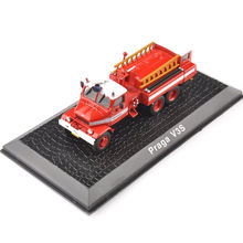 1/72 Diecast Fire Truck Car Model Toys New Praga V3S Vehicle Car Model Best Kids Gifts Collections