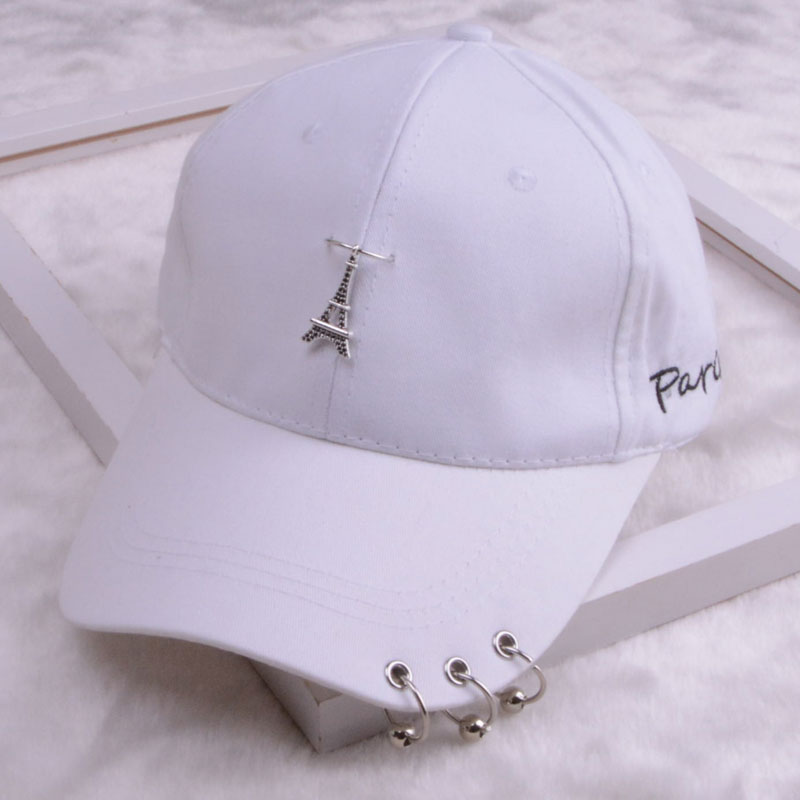 baseball cap with ring dad hats for women men baseball cap women white black baseball cap men dad hat (24)