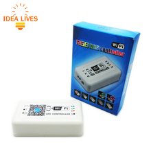 WIFI LED RGB Controller DC12-24V for RGB LED Strip Applicable to IOS and Android Mobile