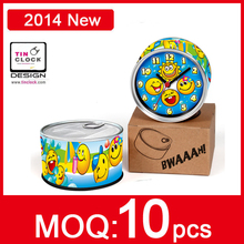 Free Shipping! Smile QQ Design Cheap Wall Clocks In Magnetics Desk Table Function Clocks