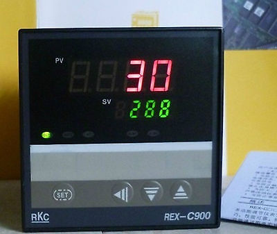 PID Digital Temperature Controller REX C900 100 240VAC 0 400  Relay Output<br>