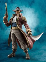Japan Anime Action figure ONE PIECE POP DX Pirate King Gol D Roger Gold Roger PVC 26m model HOT collection action figurine toy(China)