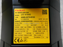 Сервомотор Fanuc A06B-0075-B103(China)