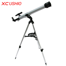 1 Set Quality F60700 Refractive 525 X Zoom Astronomical Telescope (700/60mm) Monocular Telescope for Astronomical Observation
