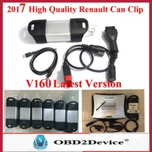 2017 V160 Renault CAN Clip For Renault Diagnostic Tool Multi-languages renault can clip diagnostic interface free shipping