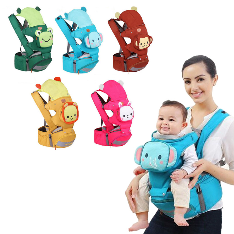 Baby Carrier Comfortable Cotton Animal Infant Backpack Kid Sling Bag Hipseat Carriage Wrap Sling Child Carriers Kangaroo