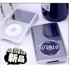 Free shipping 5pcs/lot 5in1 Pack Crystal Clear Hard Case Cover For Ipod Classic 80GB/120GB/ New 160G 3th