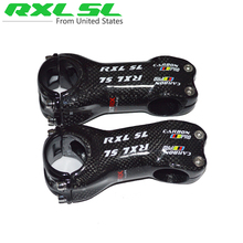 RXL SL Carbon Stem Road Bicycle Stem Road Bike MTB Cycling Parts Stem 31.8*70/80/90/100/110/120/130mm Angle 6/17 3K Gloss