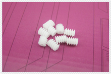 Worm Gear Worm W6X82A plastic gears 6 *8-2A Boat Car DIY accessories 50pcs/lot(China)