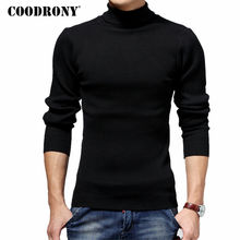 COODRONY Turtleneck Sweater Men Winter Thick Warm Wool Sweaters Christmas Knitted Cashmere Pullover Men Slim Fit Jersey Man 6703(China)