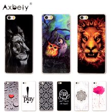 "For iPhone 5s case Silicone Soft TPU cover Cartoon lion flower owl case fundas For iPhone 5s 5G 5SE 4.0""Phone case coque(China)"