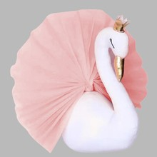 Stuffed Plush Toys For Children Adult Princess Swan Soft Plush Pendant Baby Gift Doll Girls Room Nursery Decoration Gift Toy Kid(China)