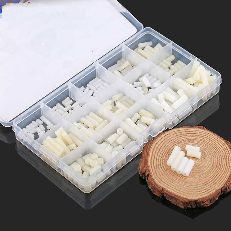 M4M5M6 Nylon Tight Set, with Screw Boxed, Headless Nylon Tight Set Machine Screw, Top Wire<br>