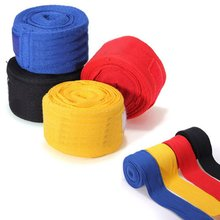 1 Pair Training Wrist Protect Fist Punch 2.5m Boxing Handwraps Bandage Punching Hand Wrap Boxing Training Gloves