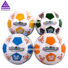 Hot Sales Mini Football Ball Size 2 Plesant Goat and Big Big Wolf PVC Soccer Ball For Kids