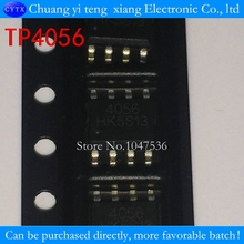 TP4056 SMD 1A 4056 Linear Li-Ion battery charger IC / lithium charge management IC SOP8 100% good 10PCS/LOT(China)