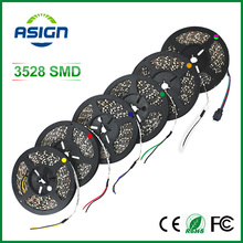 3528 LED strip Non waterproof single color only led strips 5m smd3528 LED ribbon tape White/Warm White/Red/Green/Blue/Yellow