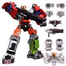 Free Shippping Deformation Era Accessories Set Transformation Robot Action Figure Glodbug Wideload BXJG097