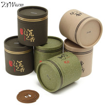 48pcs New Natural Sandalwood Incense Coil Incense Mosquito Repellent Wormwood Coil Incense 2 Hours 4 Hours Therapy Incense Scent(China)