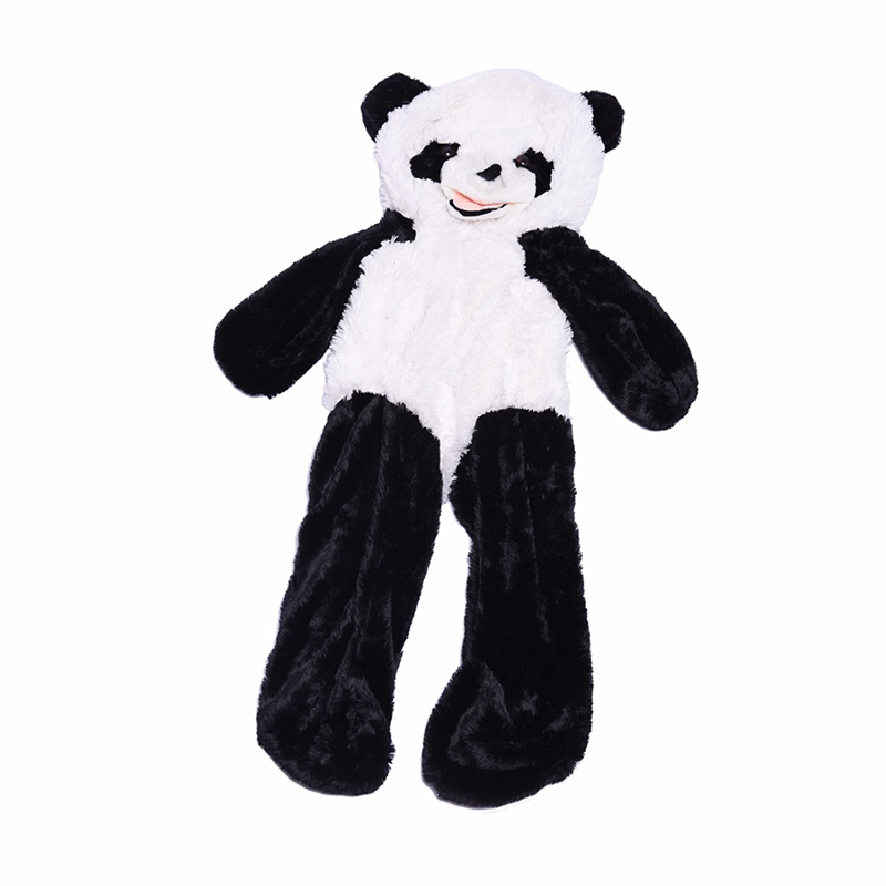 160 cm Panda Skin Plush Soft Toy without stuffed<br>