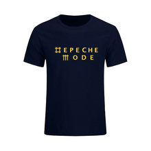 Depeche Mode Alternative Dance Music Band Mens T-shirt Fashion 2017 New Summer O Neck Cotton T Shirt Tops Camisetas Masculina(China)