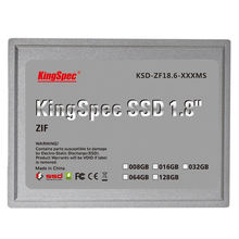 "KingSpec 128GB 1.8"" ZIF SSD KSD-ZF18.6-128MS Solid State Disk Gray"