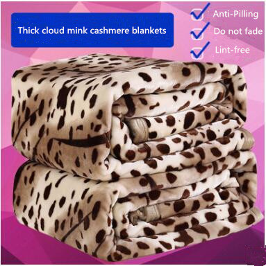 Super Soft Mink Cashmere Blanket New 2016 Brand High Quality Home Blanket Soft Thicken Comfortable Comfortor Free Shipping<br>