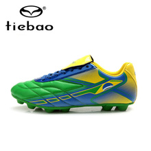 Tiebao Professional Outdoor FG TPU Sole Football Boots National Flag Soccer Shoes Men Soccer Cleats botines de futbol