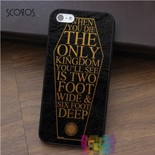 SCOZOS BRING ME THE HORIZON COFFIN HOUSE OF WOLVES case for iphone X 4 4s 5 5s 5c SE 6 6s 6 plus 6s plus 7 7 plus 8 8 plus(China)