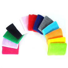 8*10cm Gym Wristbands Wrist Support for Tennis Sport Protector Carpal Tunnel Wrist Brace Sweatbands 100% Cotton Wrist Free Size