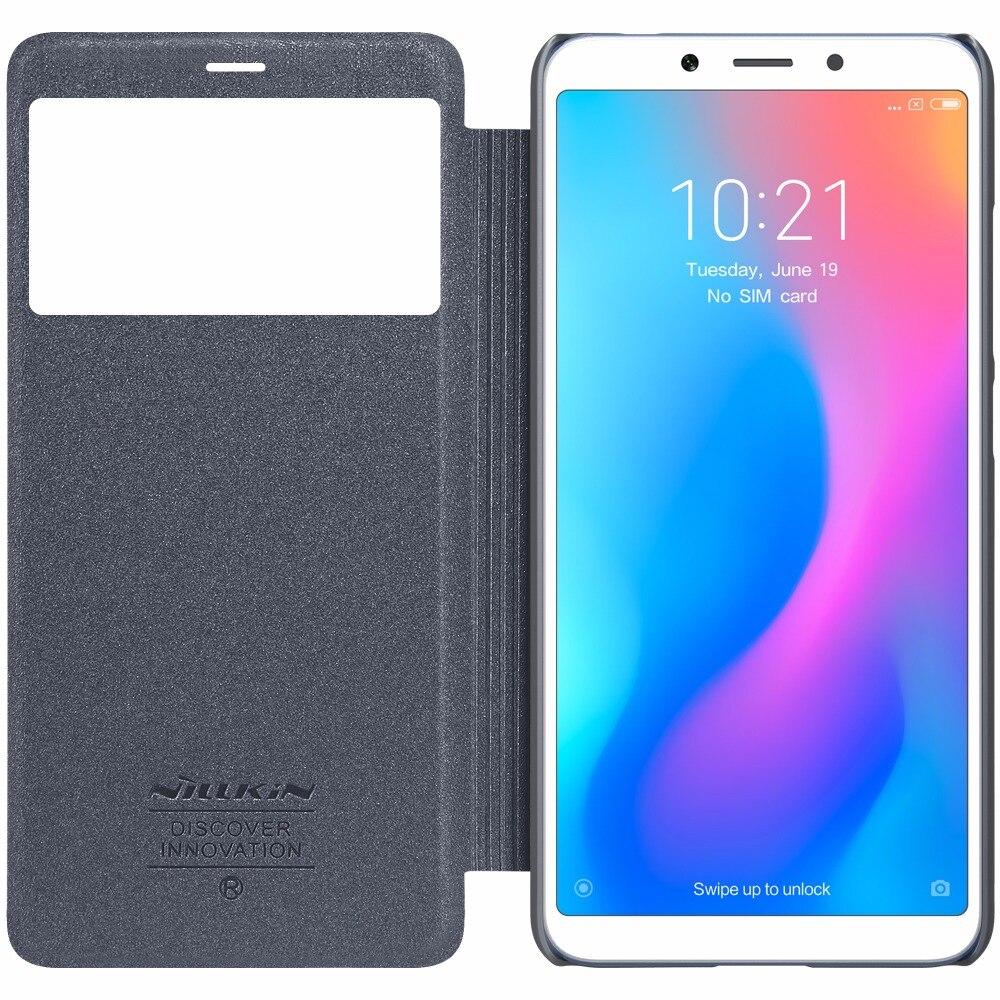 Buy Tpu Case For Meizu M3 Mini Note Original Nillkin Hard M3s Xiaomi Redmi 6 Sparkle Super Thin Flip Cover Leather