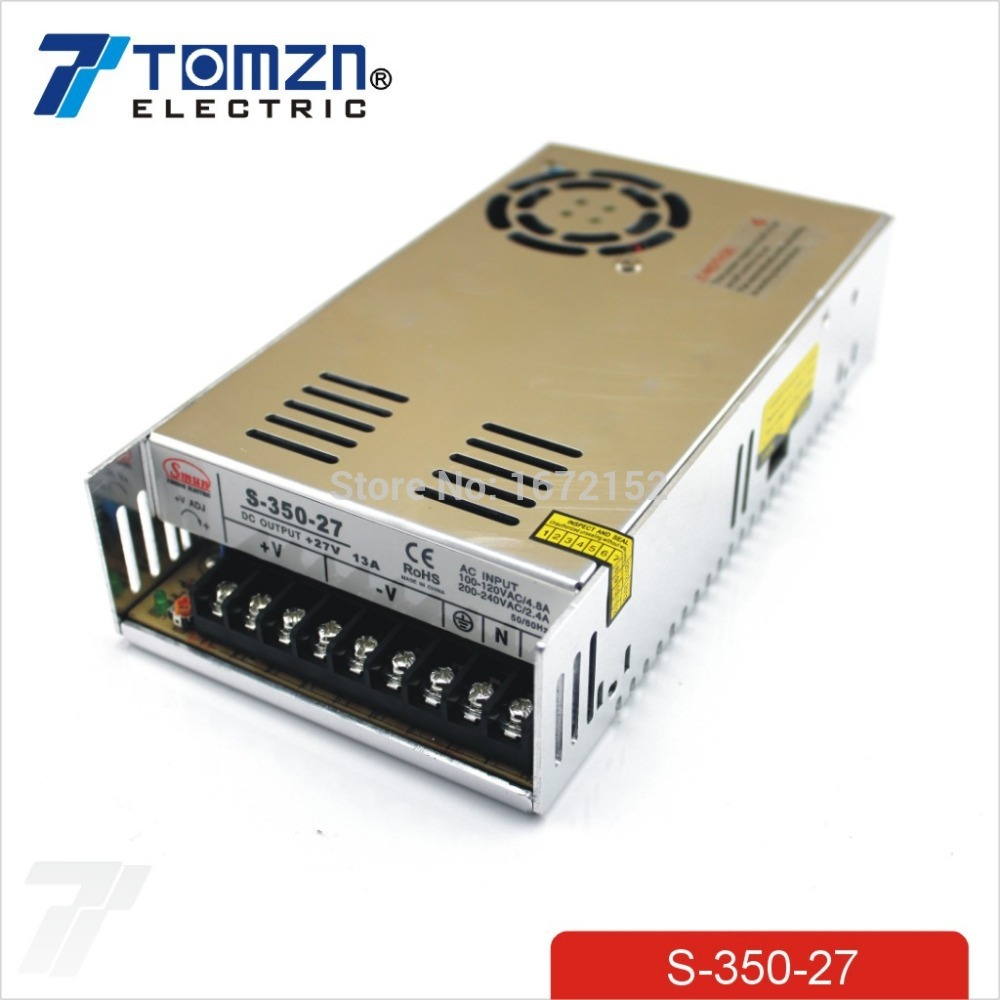 350W 27V 13A Single Output Switching power supply AC TO DC<br>
